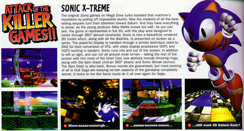 Secrets Of Sonic The Hedgehog Sonic X Treme
